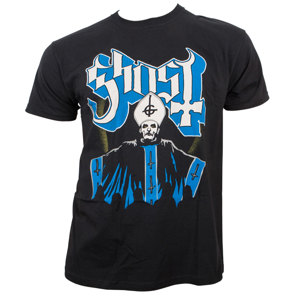 Ghost - T-Shirt Papa & Band - schwarz