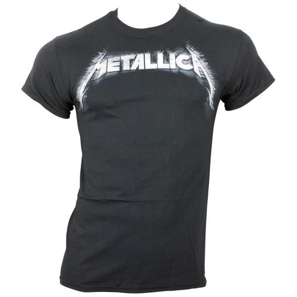 Metallica - T-Shirt Spiked Logo - schwarz