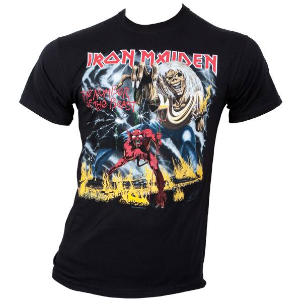 Iron Maiden - T-Shirt Number Of The Beast - schwarz