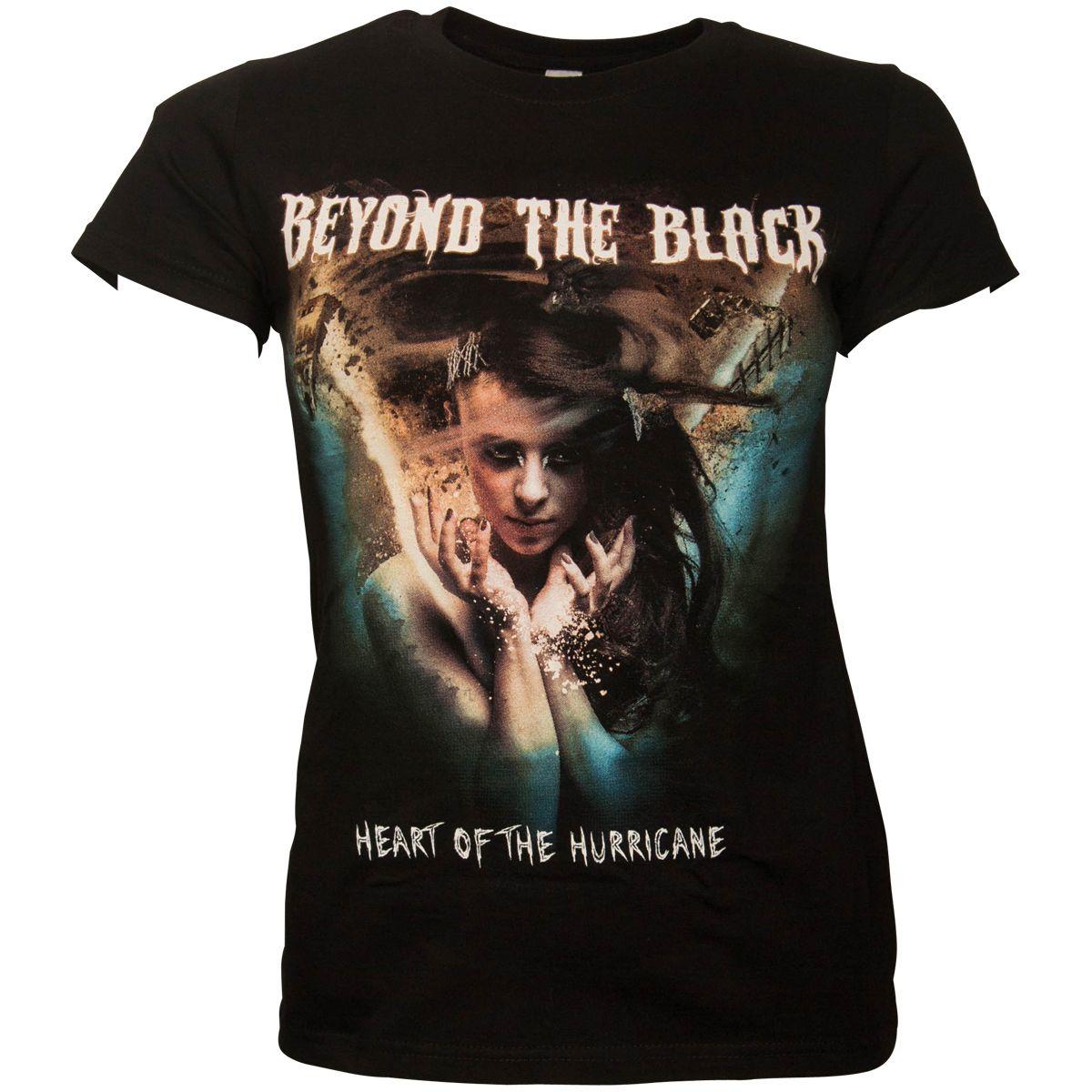 Beyond The Black - Frauen Tour Shirt Heart Of - schwarz