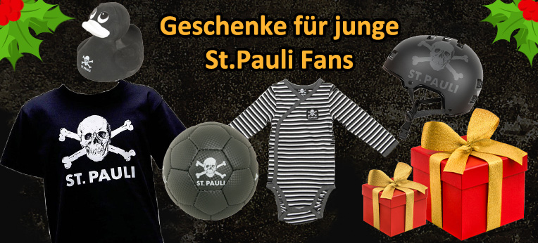 Geschenke für junge St. Pauli Fans