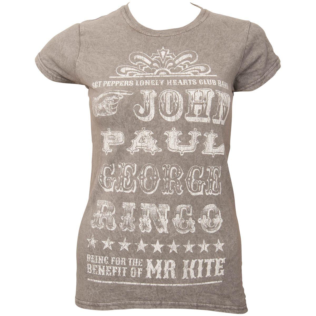 851b03ea4 The Beatles - Women T-Shirt Mr Kite | Rock N Shop | ROCKnSHOP