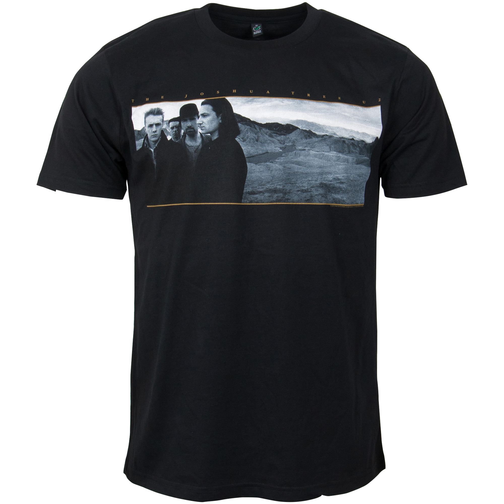 U2 - T-Shirt Joshua Tree - schwarz