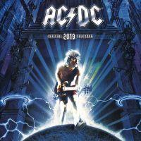 AC/DC - Offizieller Kalender 2019
