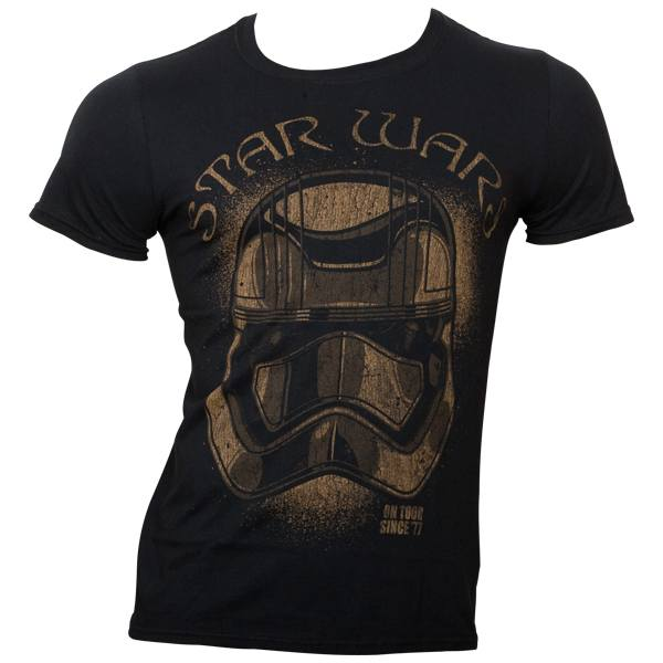 Star Wars - T-Shirt On Tour Since 1977 - schwarz