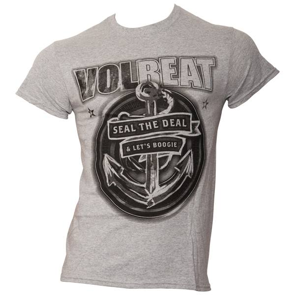 Volbeat - T-Shirt Anchor - hellgrau