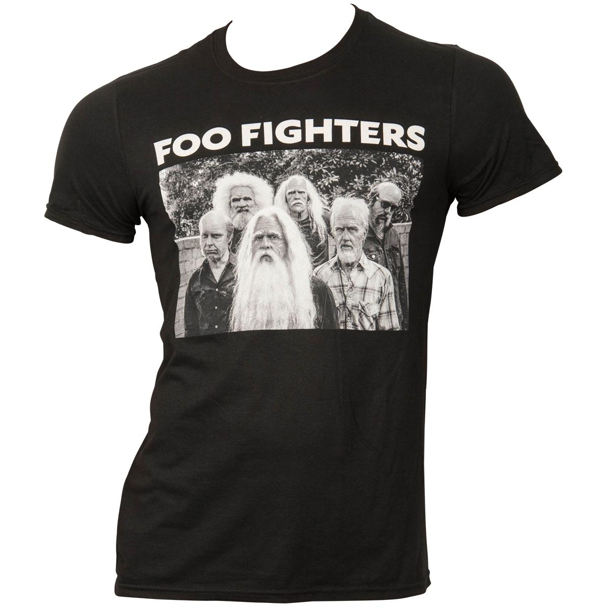 Foo Fighters - T-Shirt Oldband - schwarz