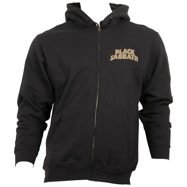 Black Sabbath Zip Hoodie Tour 78 Black Rocknshop