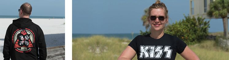 Offizielle Kiss.T-Shirts & Merchandise online kaufen | ROCKnSHOP