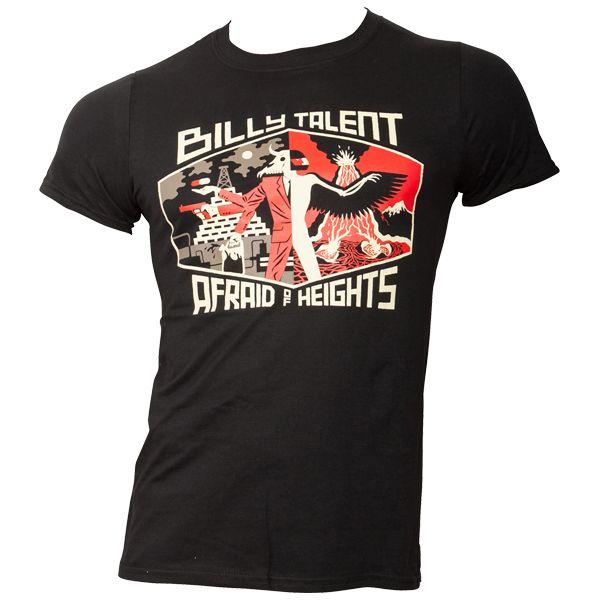 Billy Talent - T-Shirt Afraid of Heights - schwarz