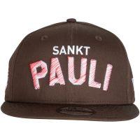 FC St. Pauli - Cap New Era Snapback Sankt Pauli - braun