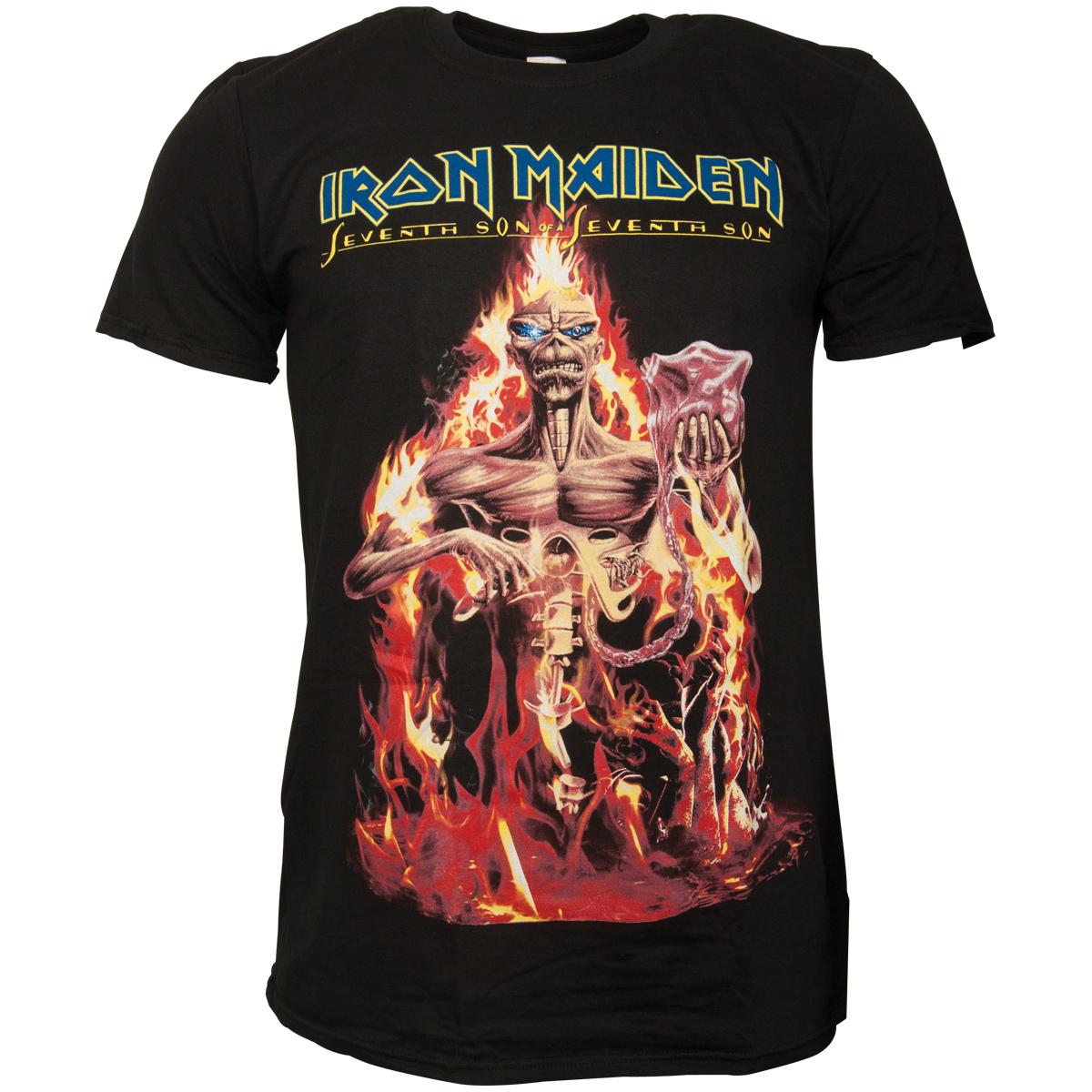 Iron Maiden - T-Shirt Seventh Son - schwarz