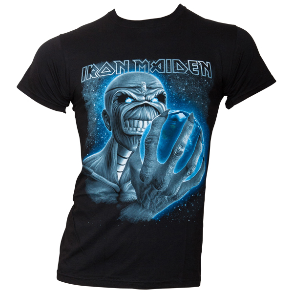 Iron Maiden - T-Shirt A Different World - schwarz