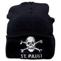 FC St. Pauli - Mütze Totenkopf - schwarz