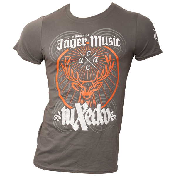 tuXedoo - T-Shirt Jägermeister - grau