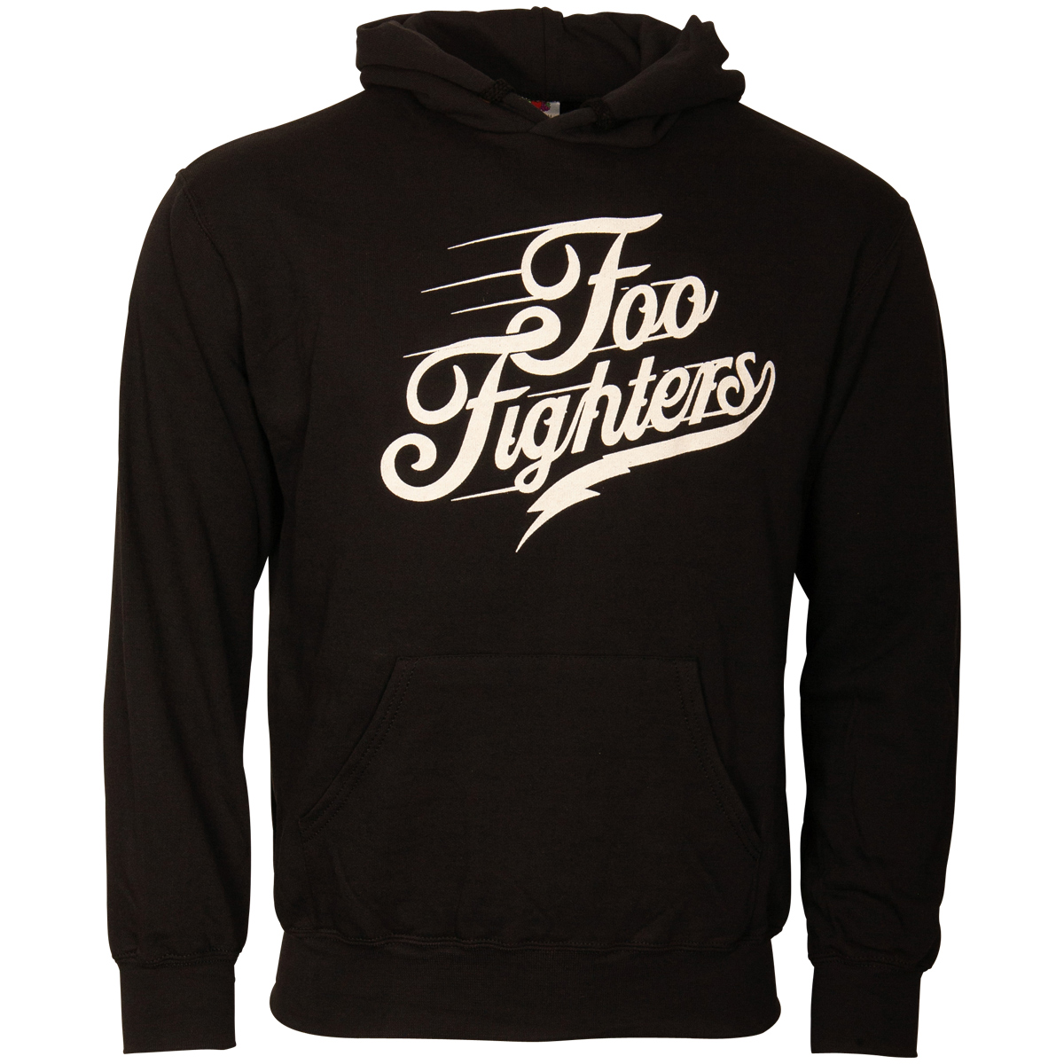 Foo Fighters - Kapuzenpullover Logo Text - schwarz