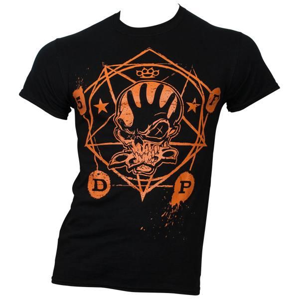 Five Finger Death Punch - T-Shirt Halloween - schwarz