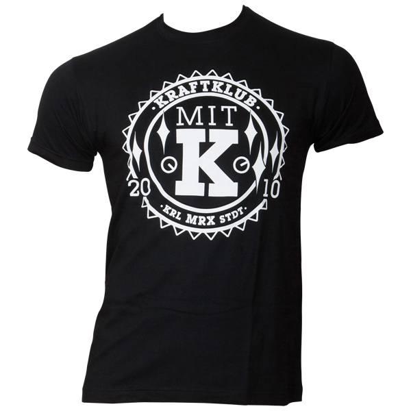 Kraftklub - T-Shirt Stempel - schwarz