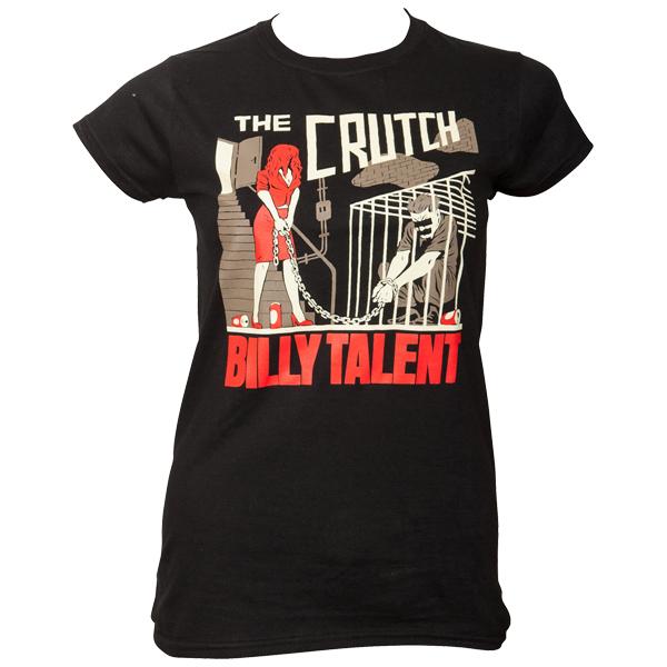 Billy Talent - Frauen T-Shirt The Crutch - schwarz
