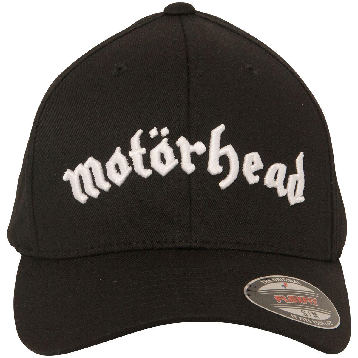 d463f64c435 Motörhead - Black Flexfit Cap with Band Logo