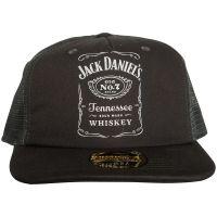 Jack Daniels - Trucker Cap Logo - grau