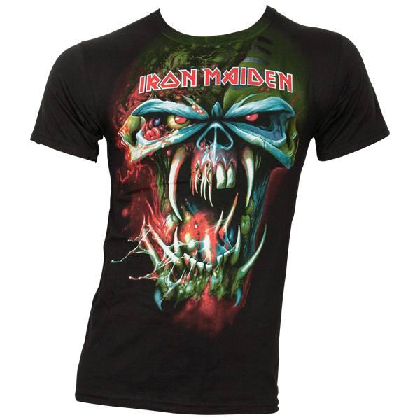 Iron Maiden - T-Shirt Final Frontier Face Tour - schwarz