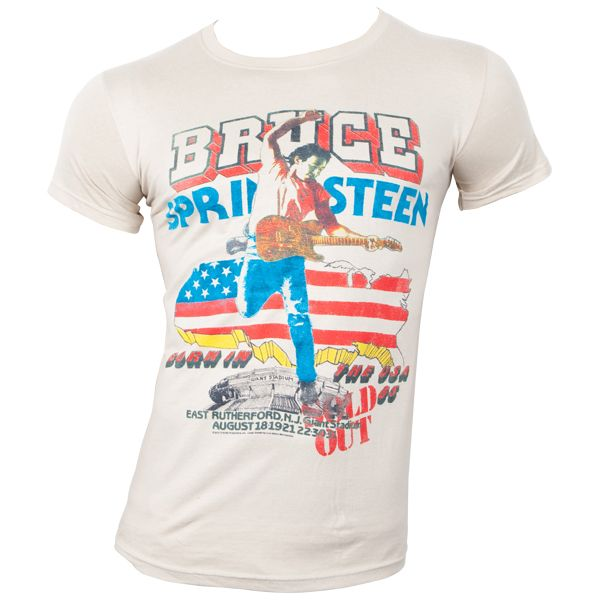 Bruce Springsteen - T-Shirt Tour - beige