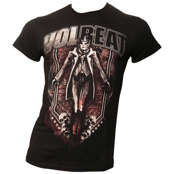 Volbeat - T-Shirt King & Skulls - schwarz