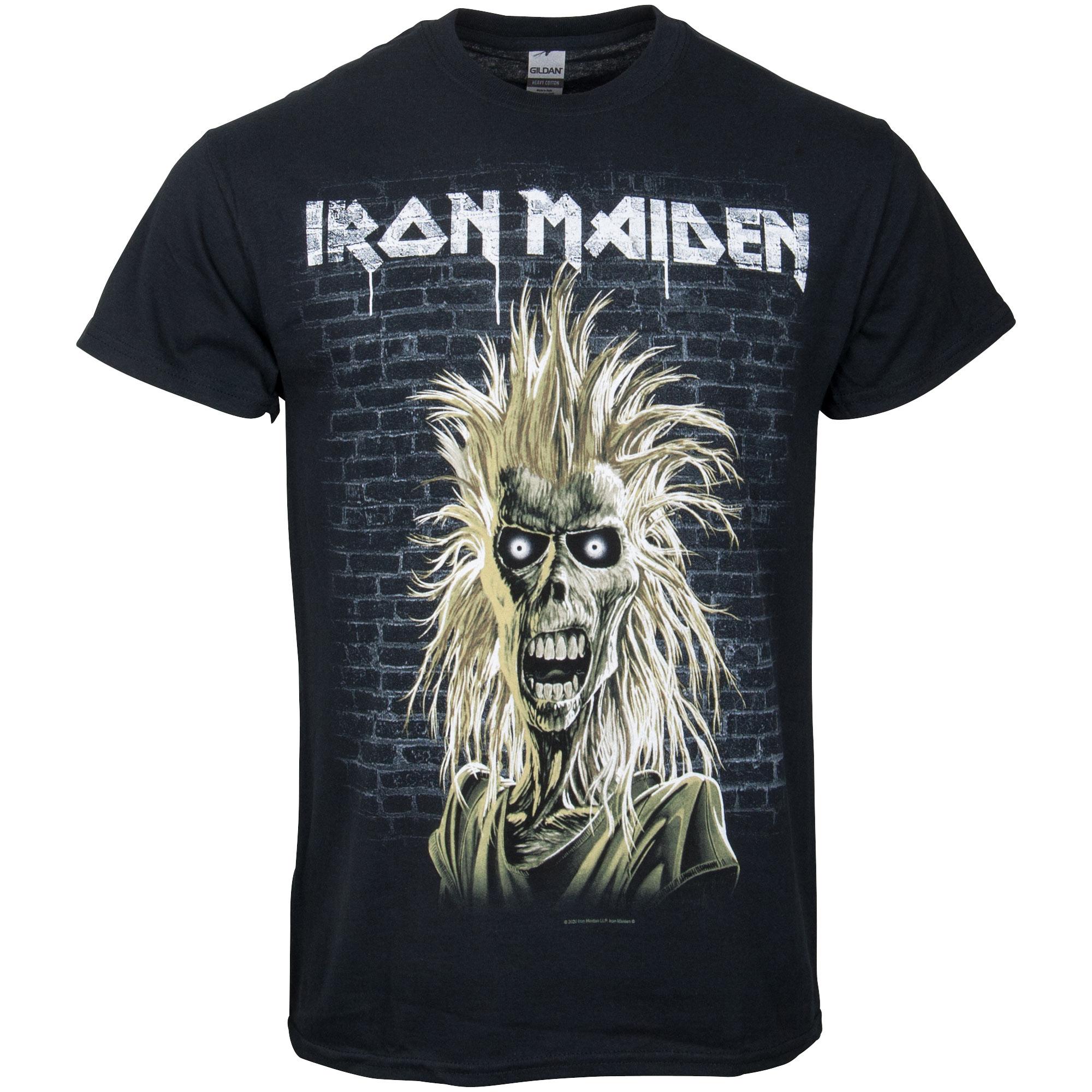 Iron Maiden - T-Shirt Eddy 40th Anniversary - schwarz