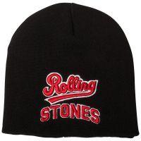 The Rolling Stones - Mütze Team Logo - schwarz