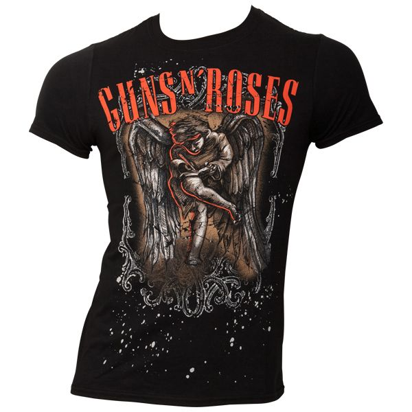 Guns N Roses - T-Shirt Sketche Cherub - schwarz
