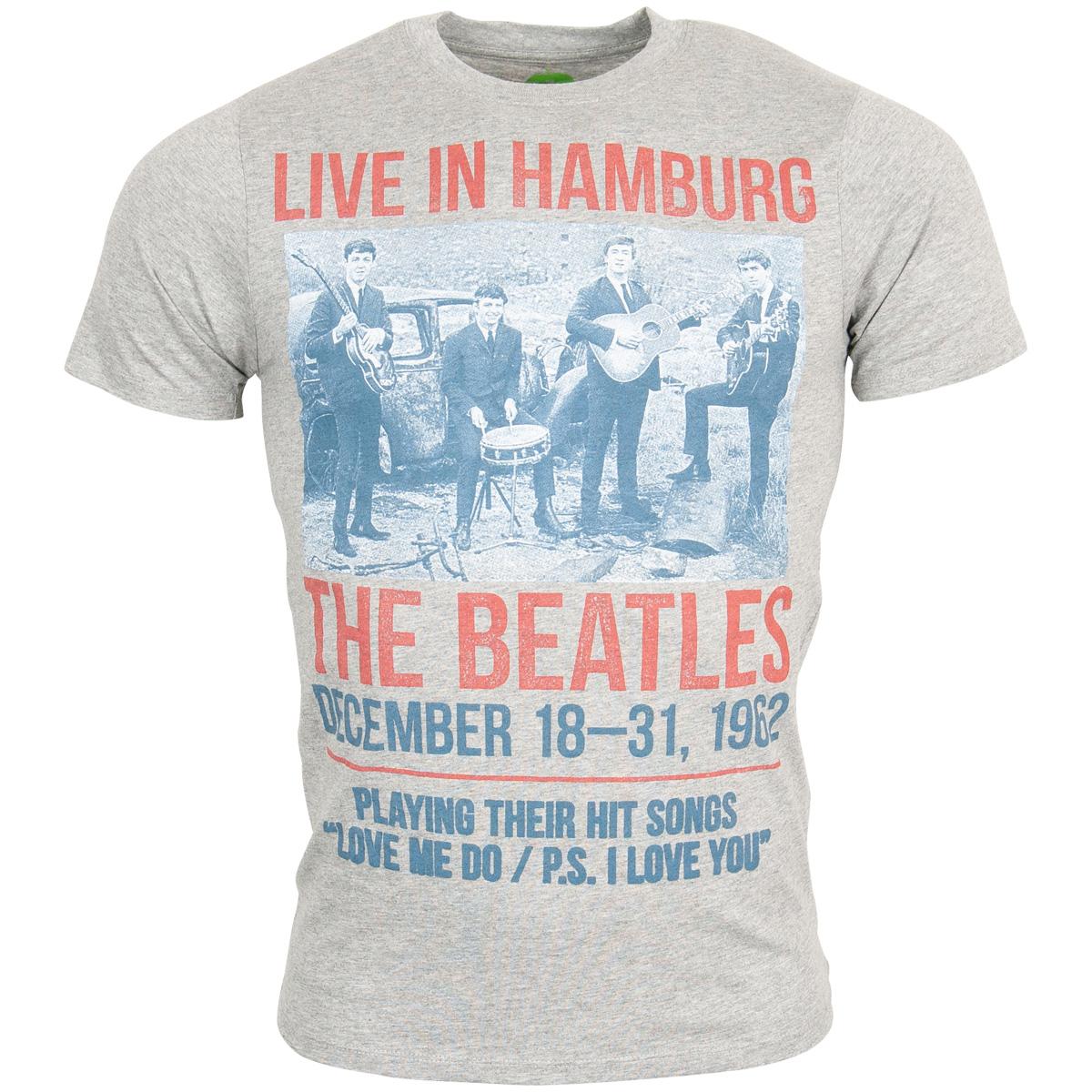 The Beatles - 1962 Live in Hamburg T-Shirt - grau
