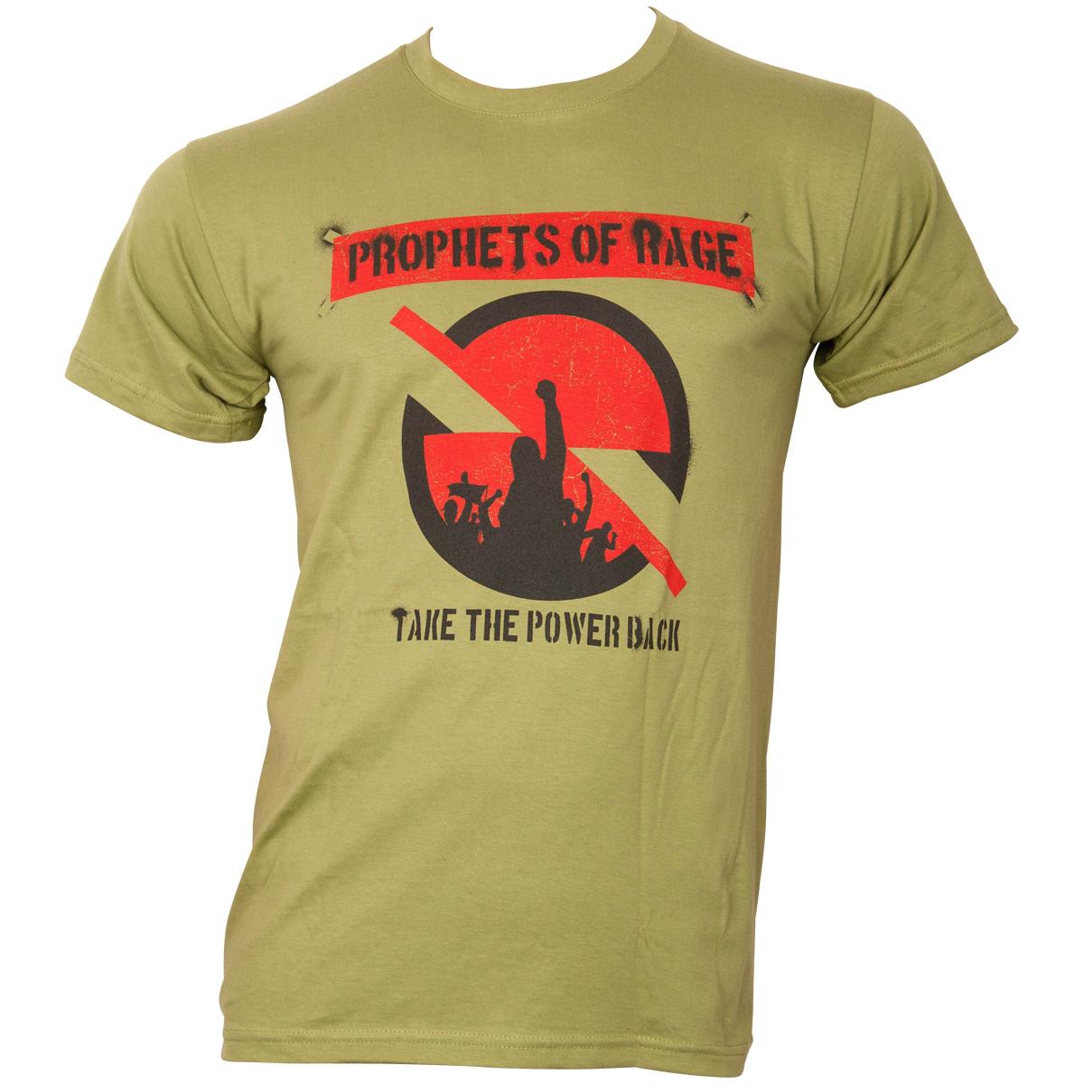 Prophets of Rage - T-Shirt Circle Stencil - grün