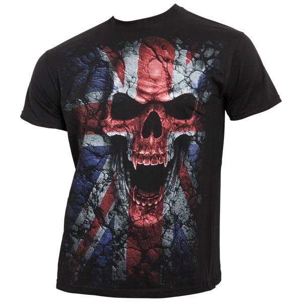 Spiral - Union Wrath - T-Shirt vollflächig bedruckt - schwarz