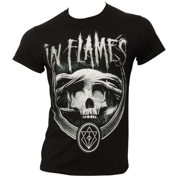 In Flames - T-Shirt Battles Badge - schwarz