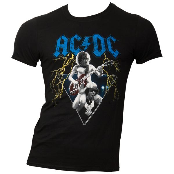 AC/DC - T-Shirt Angus & Brian - schwarz