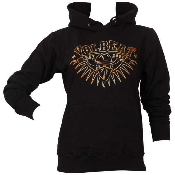 Volbeat - Girlie Kapuzenpullover Rusty Cowboy - schwarz