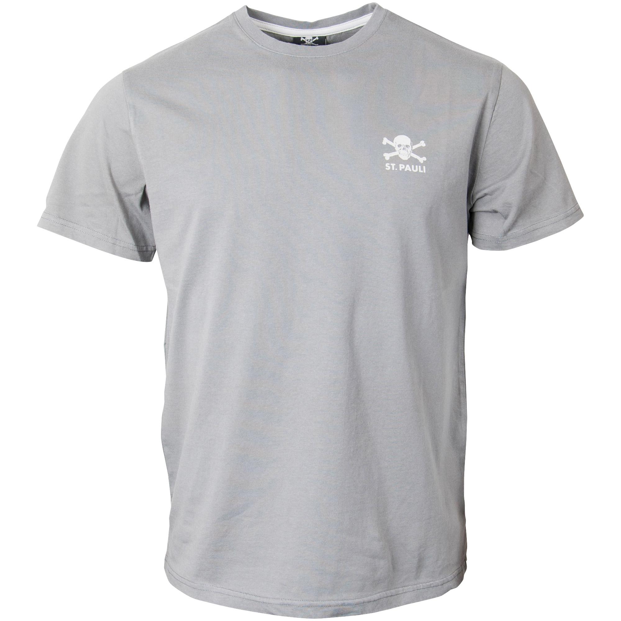FC St. Pauli - T-Shirt FCSP - grau