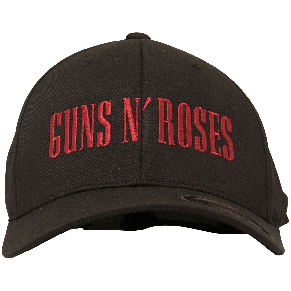 Guns N Roses - Flexfit Cap Bandlogo - schwarz