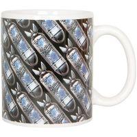 System of A Down - Kaffeebecher Bomb Logo -  weiß