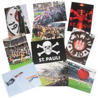 FC St. Pauli - Postkarten Set I - multicolor