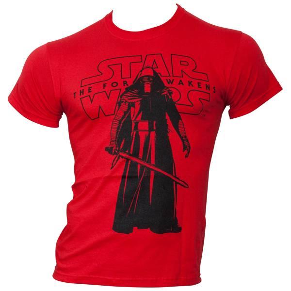 Star Wars - T-Shirt Star Wars VII - Kylo Ren Standing - rot