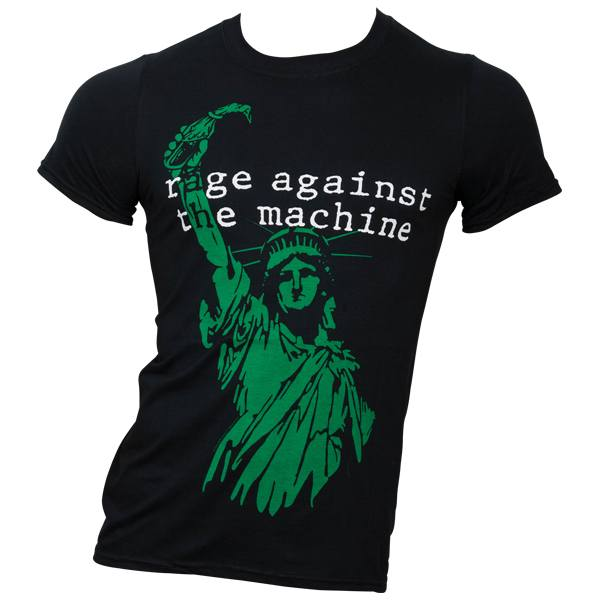 Rage Against The Machine - T-Shirt Liberty - schwarz