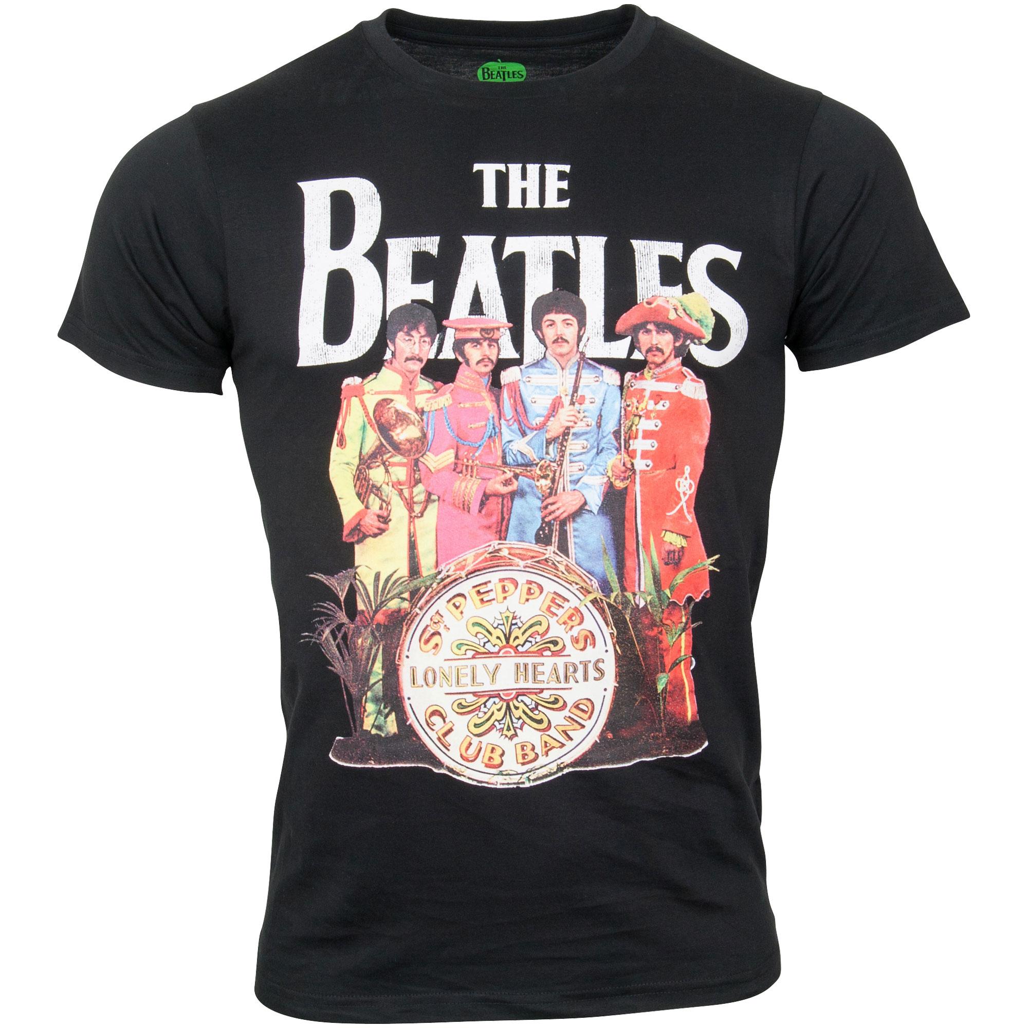 The Beatles - T-Shirt Sgt. Pepper - schwarz