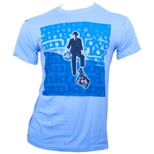 Pink Floyd - T-Shirt Invisble Man - blau