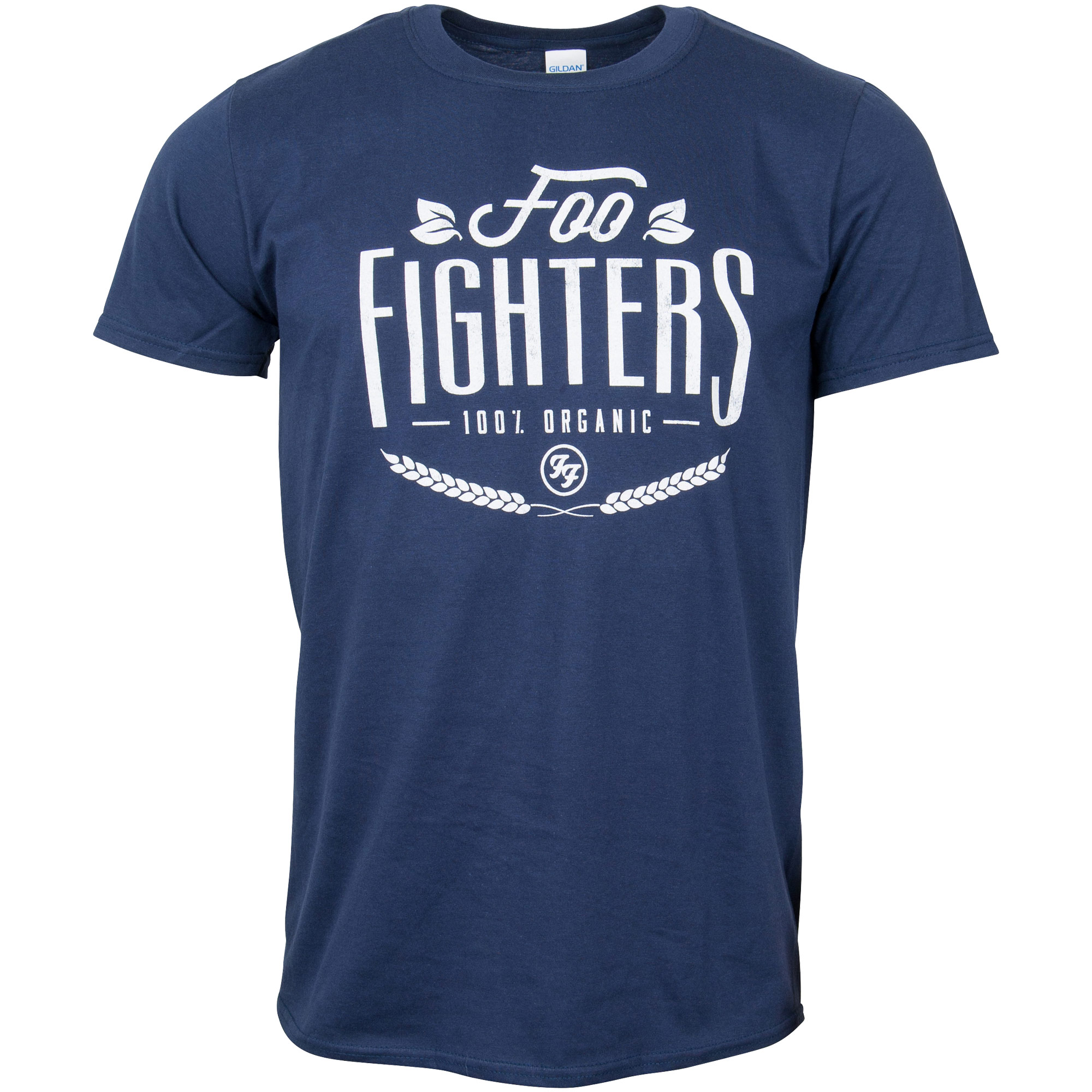 Foo Fighters - T-Shirt 100% Organic - blau