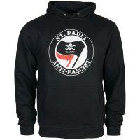 FC St. Pauli - Kapuzenpullover Anti Fascist - schwarz