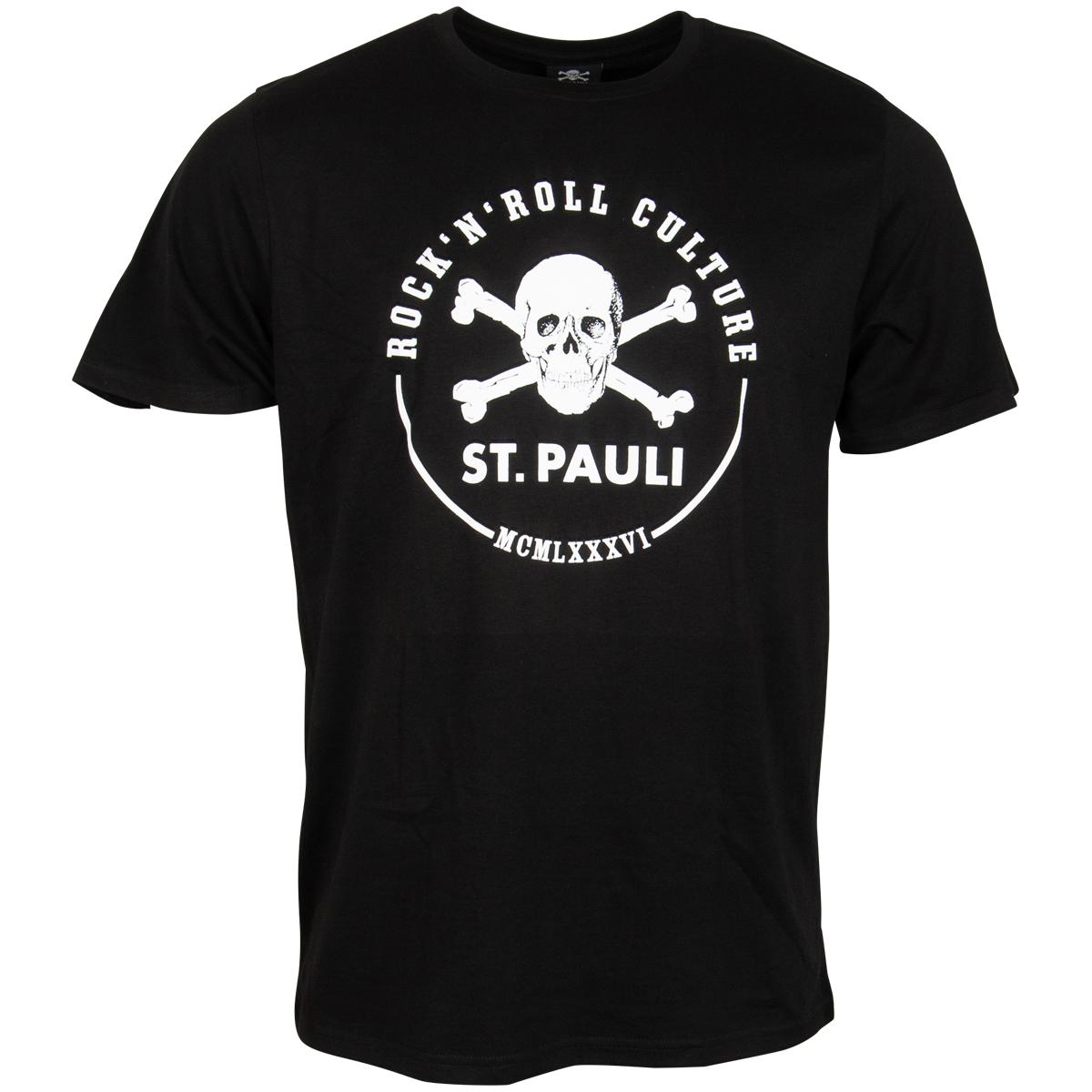 FC St. Pauli - T-Shirt RnR ´86 - schwarz