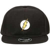 The Flash - Snapback Cap Logo - schwarz