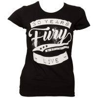 Fury In The Slaughterhouse - Frauen T-Shirt 30 Years Live - schwarz